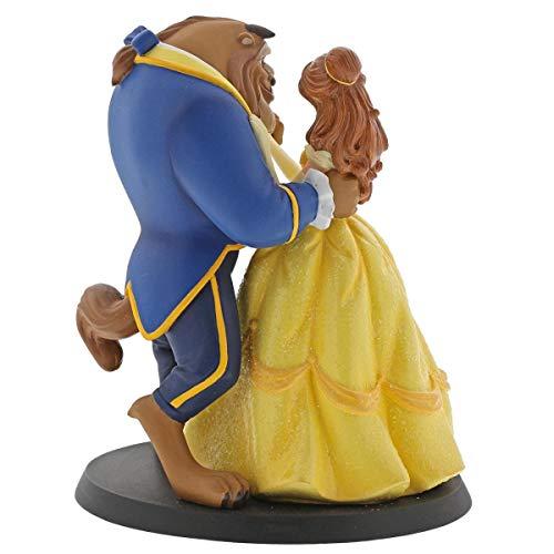 Enchanting Disney Belle Wedding Cake Topper