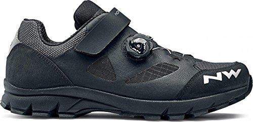 NORTHWAVE TERREA PLUS zapatos de bicicleta de montaña negro, Tamaño:gr. 47