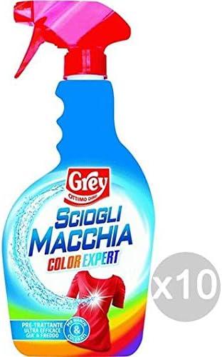 Grey Juego de 10 Quita Mancha Spray 500 Color Expert detergente ...