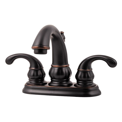 Pfister LF048DY00 Treviso 2-Handle 4 Inch Centerset Bathroom Faucet in Tuscan Bronze, Water-Efficient Model