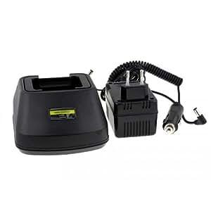 cargador de batería para walkie talkie / emisora HYT TC600