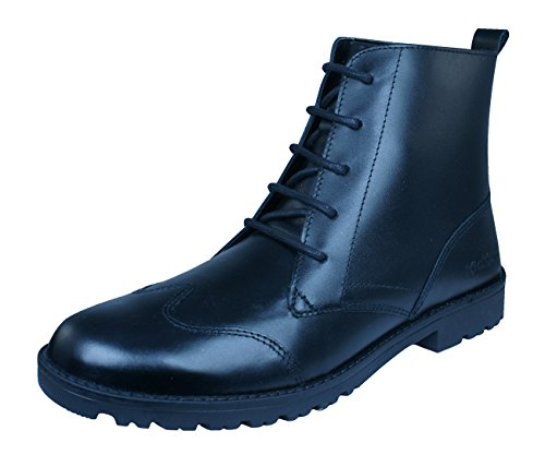 Kickers Lachly Hi Womens Leather Boots Black