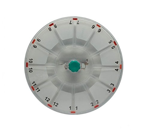 LW Scientific Zipcombo Rotor 12 Place Hematocrit, 40mm Tubes for Zipcombo Centrifuge ZCP-RT12-77HE by LW Scientific (Image #1)