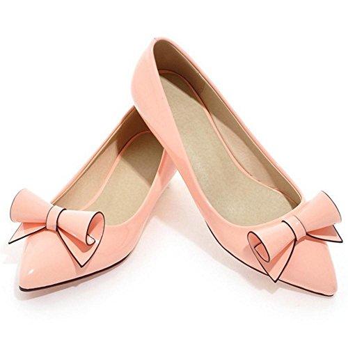 Verschluss Pink Mode Damen COOLCEPT ohne Pumps zOTqTfw