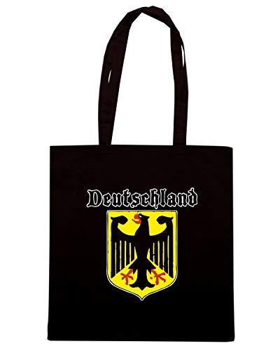 Black 11 Litri Handbag SpeedShirtCotton Womens shrdQt