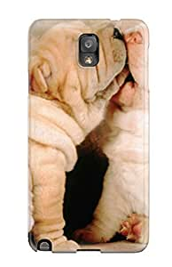 8519021K92823455 Pretty Galaxy Note 3 Case Cover/ Shar Pei Puppies Series High Quality Case