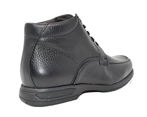 TOLINO - Botines de hombre - Máxima resistencia y comodidad - Piel - Negro - 7660