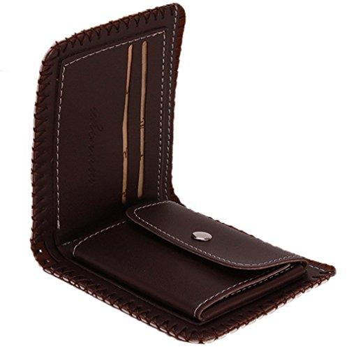 Leather Hengsong Unisex Stars PU Wallet Hengsong Stripes Multifunction Handmade Unisex YRRF7