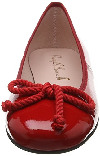 Femme Red Pretty Rouge Ballerines 35663 Ballerinas honey qxBB8tOp