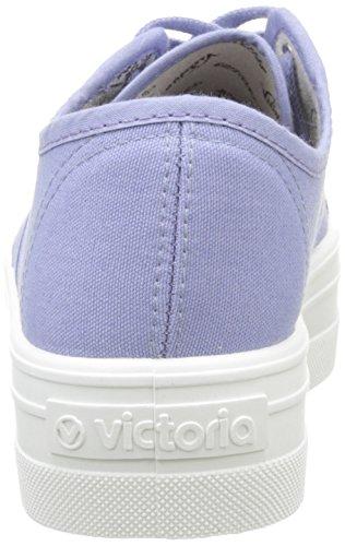 Sneakers Basket Lavanda 190 Red Adults' Low Lona Victoria Top Plataf Unisex Bleu wHCq0fOT