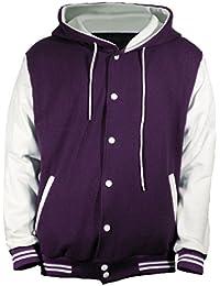 Amazon.com: Purple - Varsity Jackets / Lightweight Jackets ...