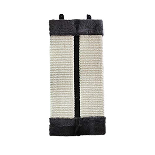 Jim-Hugh Post Wear Resistant Sisal Hemp Mat Non-Toxic Pet Supplies Kitten Corner Cat Scratch Board Toy Pad Wall Hanging