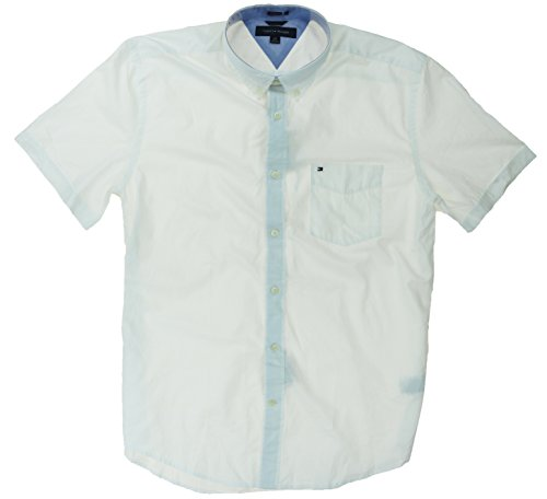 tommy-hilfiger-mens-classic-fit-short-sleeve-woven-shirt-x-large-white