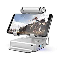 GameSir X1 BattleDock Mouse and Keyboard Converter X1 BattleDock is designed for shooting games include PUBG, Knives Out, Survivor Royal, Critical Ops etc.Important Note: 1. This product does support iOS FT and Pubg mobile. 2. This product w...