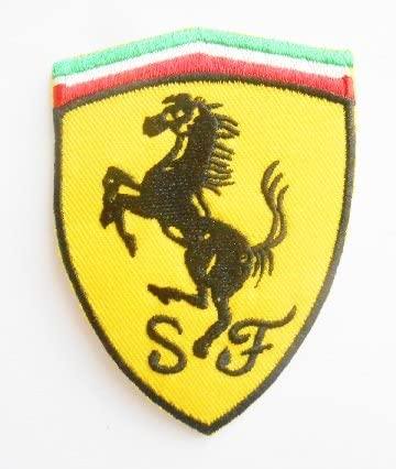 écusson Brodé Ferrari Amazon Fr Auto Et Moto
