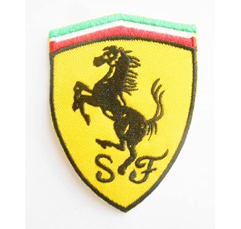 Patch - Escudo Bordado de Ferrari: Amazon.es: Electrónica
