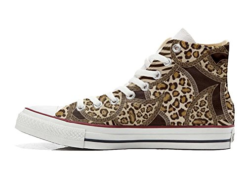 Star Converse Hi Jungle Customized Schuhe Handwerk Schuhe personalisierte All FzqzxWR6U