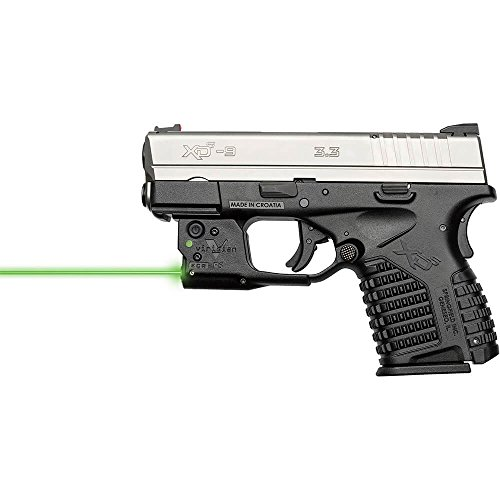 Viridian Reactor 5 Green Laser Sight Pistol Handgun, ECR Instant on Holster