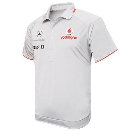 Camiseta Team Replica - McLaren Mercedes- talla XL: Amazon.es ...