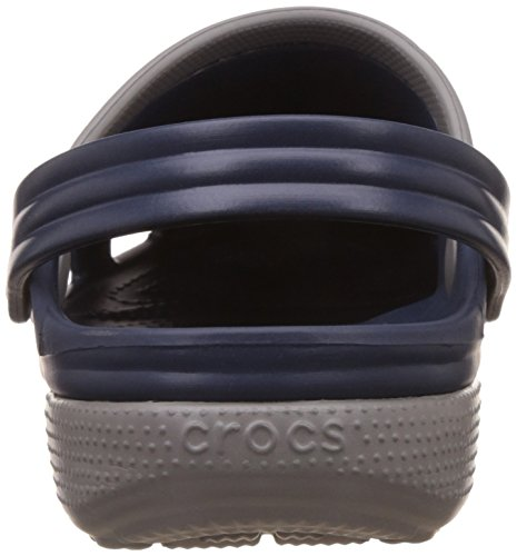 Crocs duet Adults Unisex Clog (Navy/Smoke) 1MosiL9VY