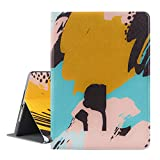 New iPad 9.7 inch 2018/2017 Case, Dopup Premium Leather Case, Multiple Viewing Angles