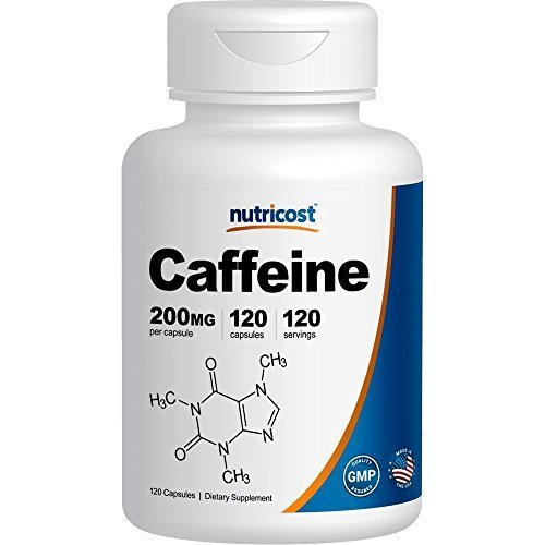 Nutricost Caffeine Pills 200mg Caps product image