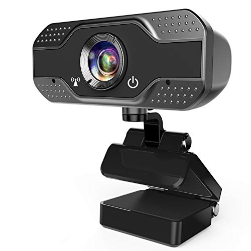 🥇 ANWIKE Webcam HD 1080P con micrófono