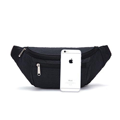 TINYAT Travel Fanny Bag Waist Pack Sling Pocket Super Lightweight For  Travel Cashier s box, Tool ab63f0419b