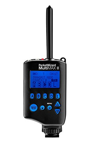 (PocketWizard MultiMAX II Transceiver, Remote Control Radio Slave.)