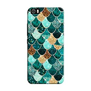 Cover It Up - Emerald Scales Mi5Hard Case