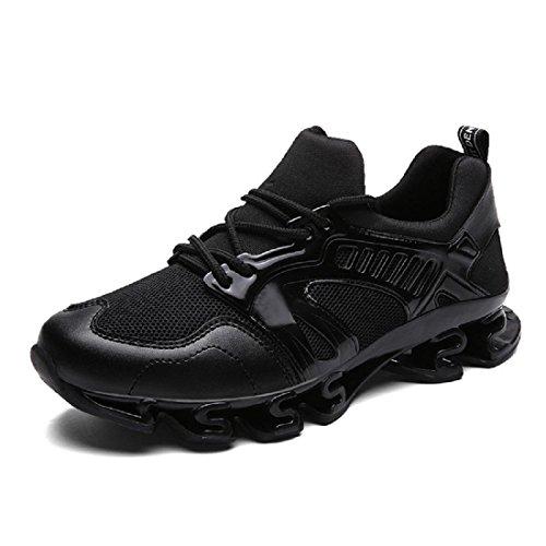 timeless design c23aa 49288 Nuevo Para Black Deportivos Zapatos Formación Hombres Aumentado Respirable  El Correr 7wanHtTSqx