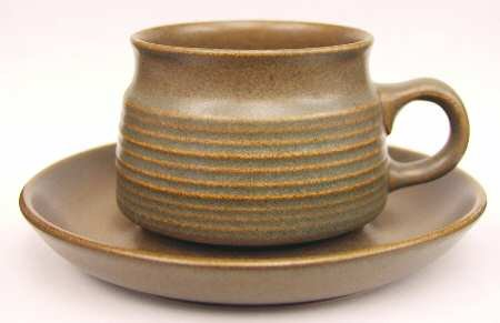 Denby Langley Sherwood Coffee Cup and Saucer