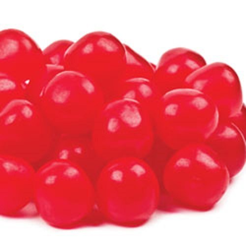 Cherry Sours 10 pounds sweet and sour jelly cherry balls by Sunrise Confections, a division of Mount Franklin Foods, LLC. - El Paso, Texas.