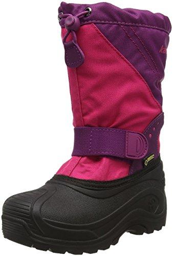 Kamik Unisex-Kinder Snowtraxg Schneestiefel Pink (Rpm-Rose&Plum)