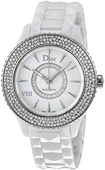 Dior VIII Diamond Studded Automatic Womens Watch