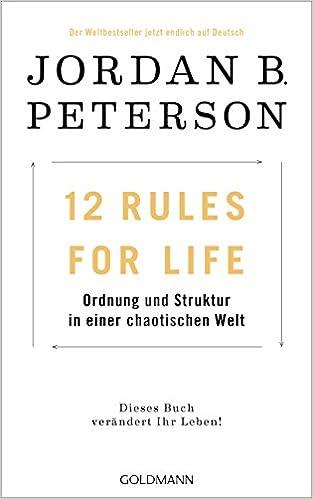 oryginalne buty moda najniższa zniżka 12 Rules For Life: Ordnung und Struktur in einer chaotischen ...