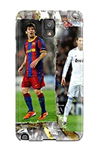 Durable Case For The Galaxy Note 3- Eco-friendly Retail Packaging(fc Barcelona Champions )