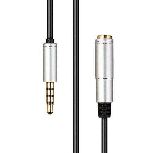 KTS Acoustics Bose Extension Lead - Replacement 1.7M Extension Cable for Bose Headphones - QuietComfort/QC/AE/Triport/SoundSport - Cord / Adapter - Gold plated