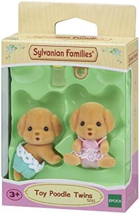 Sylvanian Families - 5261 - Gemelos Perro Caniche: Amazon.es: Juguetes y juegos