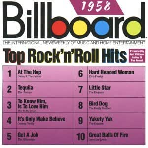 Billboard Top Rock'n'Roll Hits: 1958