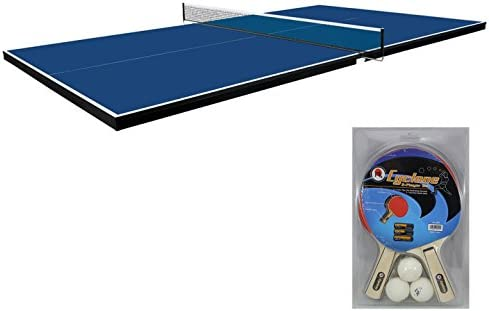Martin Kilpatrick Ping Pong Table for Billiard Table Conversion Table Tennis Game Table Table Tennis Table w Warranty Conversion Top for Pool Table Games Table Top Games Ping Pong Table Top
