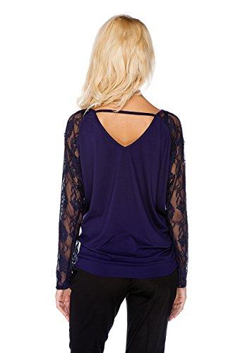 My Tummy Maternité blouse Ellie violet