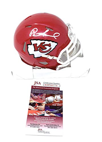 - Patrick Mahomes Kansas City Chiefs Signed Autograph Speed Mini Helmet JSA Witnessed Certified