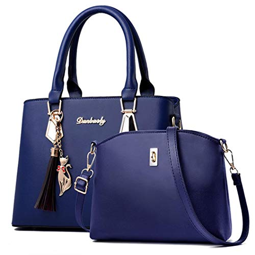 Women Bag Contain Two Packages Luxury Handbag (Ladies Pocketbook Jewerly Case)
