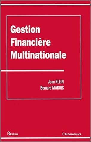 Télécharger en ligne Gestion financière multinationale pdf epub