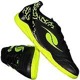 Chuteira Dalponte Eletric Futsal Juvenil Preta ec53c8f937c37