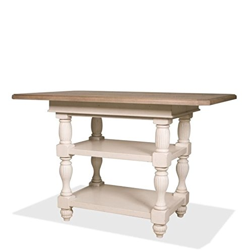 Riverside Dining Furniture - Riverside Furniture Coventry Two Tone Dining Table in Dover White