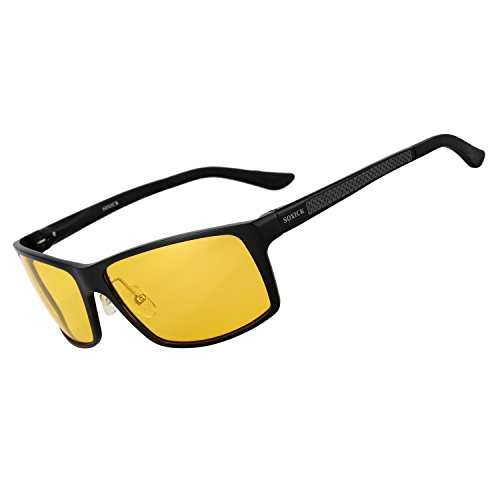 Soxick Night Driving Glasses Polarized Anti Glare For Better Night Vision