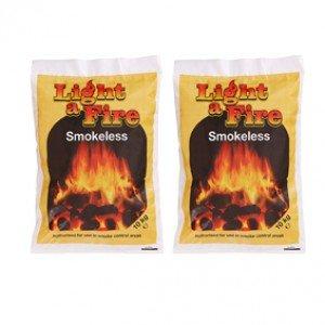 10kg Light a Fire Smokeless Coal x 2
