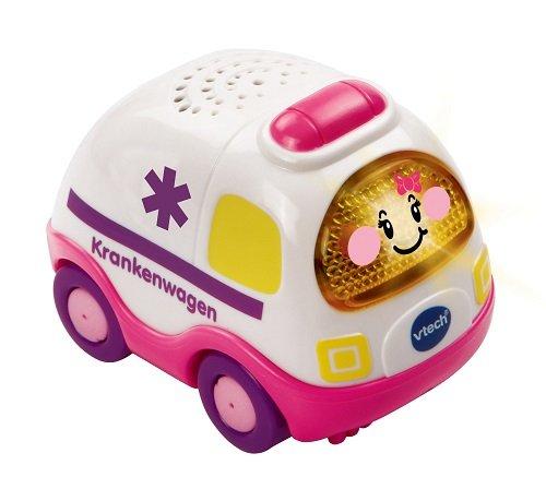 Vtech Baby Tut Tut Flitzer Krankenwagen pink - VTech Baby Parkgarage Mädchen